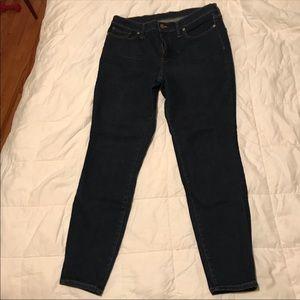 EUC Madewell Dark Skinny Jeans